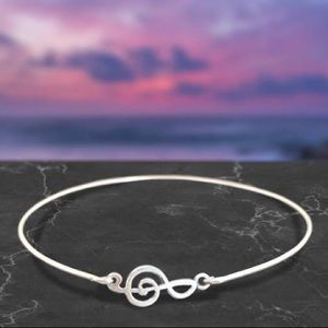 COMING SOON! Treble Bangle Bracelet